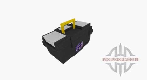 Boîte à outils en plastique pour Farming Simulator 2017