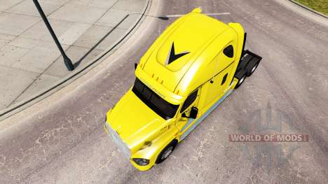 Скин Veriha Trucking на Freightliner Cascadia für American Truck Simulator