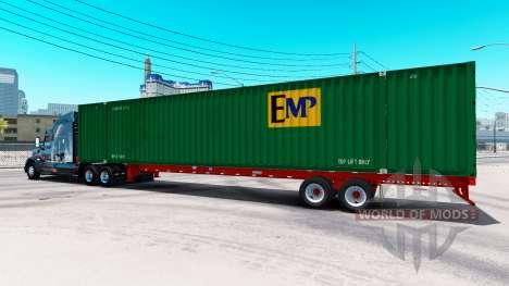 Auflieger container-EMP für American Truck Simulator