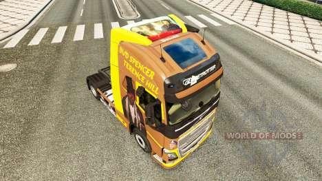 Spencer Hill peau pour Volvo camion pour Euro Truck Simulator 2