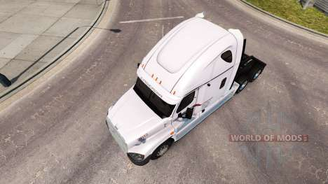 Скин P. A. M. de Transport на Freightliner Casca pour American Truck Simulator