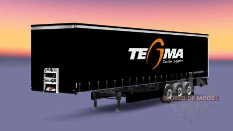 Tegma Logistique de la peau pour les remorques pour Euro Truck Simulator 2