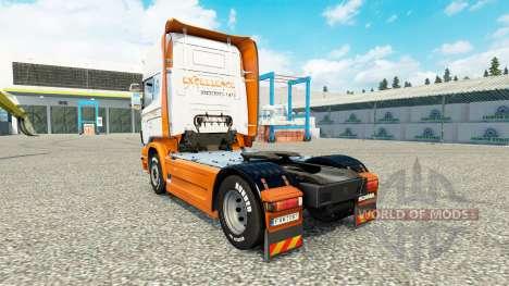 Excellence Transportes skin für Scania-LKW für Euro Truck Simulator 2