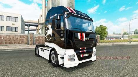L'Édition limitée de la peau pour Iveco tracteur pour Euro Truck Simulator 2