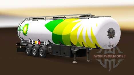 Haut, BP Kraftstoff-semi-trailer für Euro Truck Simulator 2