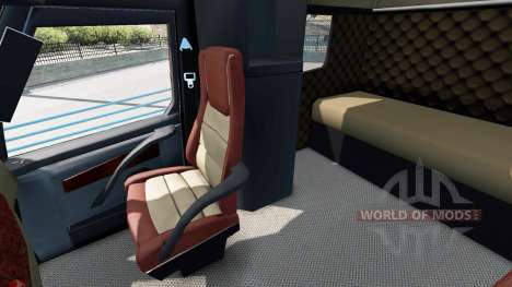 Concept truck 2020 Raised Roof Sleeper für American Truck Simulator
