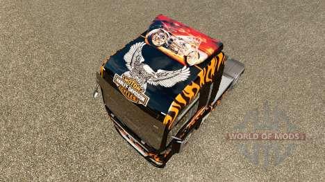 Haut Harley-Davidson auf der LKW-MANN für Euro Truck Simulator 2