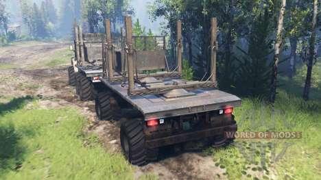 Ural-4320-10 v4.0 pour Spin Tires