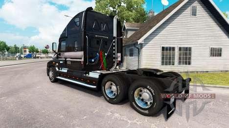 La peau de la MARTRE sur le camion Freightliner  pour American Truck Simulator