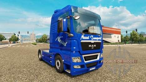 L'ortie Transports de la peau pour l'HOMME de ca pour Euro Truck Simulator 2