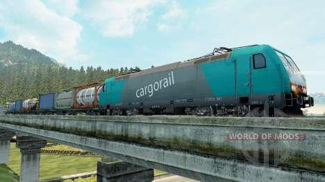 Les trains de marchandises pour Euro Truck Simulator 2