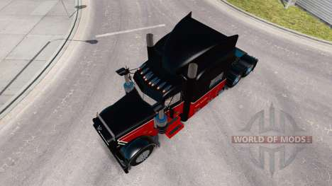 La Peau Bert Question Inc. pour le camion Peterbilt 389 pour American Truck Simulator