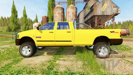 Dodge Ram 2500 Heavy Duty v2.0 pour Farming Simulator 2017