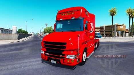Dom Toretto peau pour camion Scania T pour American Truck Simulator