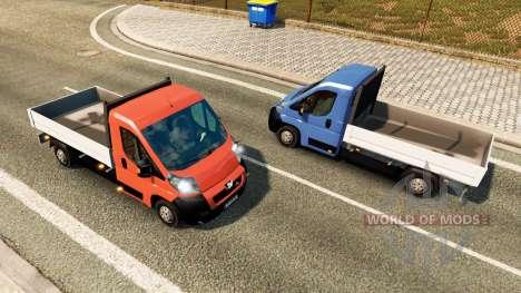 Peugeot Boxer Camionnette pour le trafic pour Euro Truck Simulator 2
