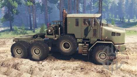 Oshkosh M1070 HET v2.0 pour Spin Tires
