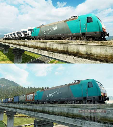 Güterzüge für Euro Truck Simulator 2