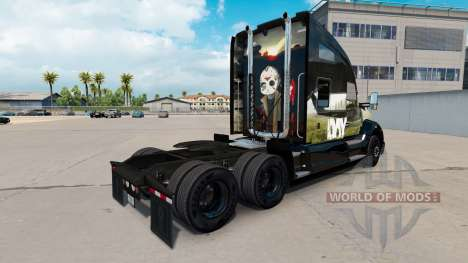 Haut DayZ auf einem Kenworth-Zugmaschine für American Truck Simulator