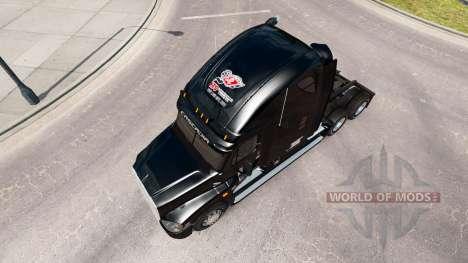 Haut auf dem KTS truck Freightliner Cascadia für American Truck Simulator