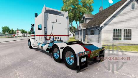 La peau de Nathan T Diacre pour le camion Peterbilt 389 pour American Truck Simulator