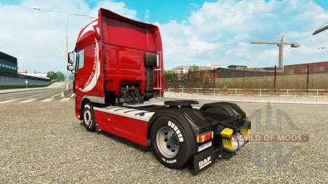 Haut-Limited Edition-v2.0 LKW DAF für Euro Truck Simulator 2