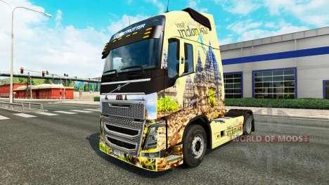 Indonesien skin für Volvo-LKW für Euro Truck Simulator 2
