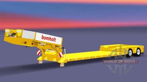 Lit bas au chalut de Poupée Bomholt pour Euro Truck Simulator 2