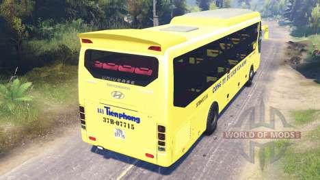 Hyundai Universe pour Spin Tires