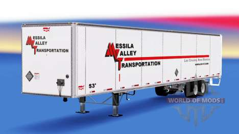 Remorque Wabash pour American Truck Simulator