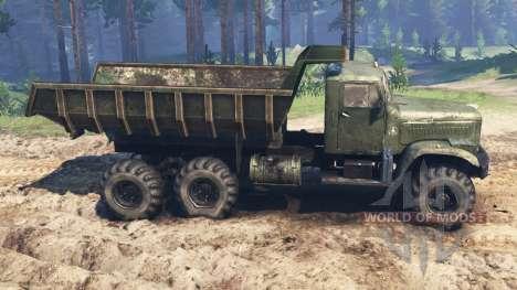 KRAZ-255 für Spin Tires