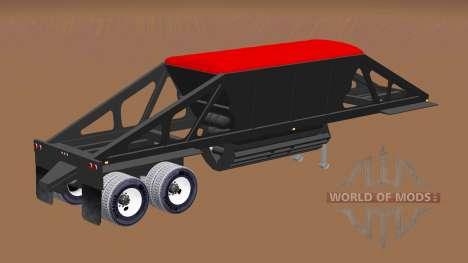 Semi-remorque dumper avec la vidange de fond pour American Truck Simulator