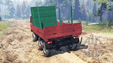 UAZ-33036 6x6 pour Spin Tires