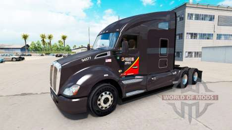 Haut Gallone Öl-truck Kenworth für American Truck Simulator