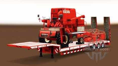 Une collection de bas-cadre des chaluts avec les pour Euro Truck Simulator 2