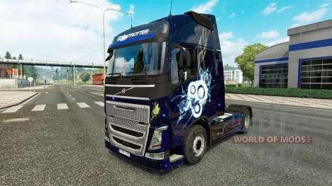 Élégant de la peau pour Volvo camion pour Euro Truck Simulator 2