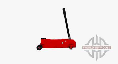 Hydraulische rolling Jack für Farming Simulator 2017