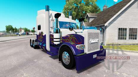 Skin für den truck-Peterbilt 389 für American Truck Simulator