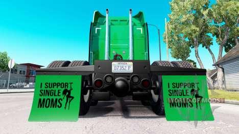 Garde-boue-je prendre en charge des Mamans v1.8 pour American Truck Simulator