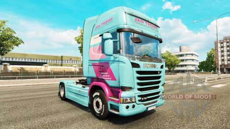 Jan Tromp de la peau pour Scania camion pour Euro Truck Simulator 2