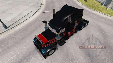 La peau JPC Ranch pour le camion Peterbilt 389 pour American Truck Simulator