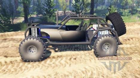Rock Buggy v2.0 für Spin Tires