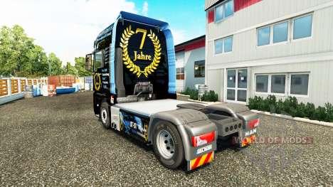 La peau DJ Charty sur tracteur HOMME pour Euro Truck Simulator 2