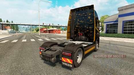 L'Or noir de la peau pour Volvo camion pour Euro Truck Simulator 2