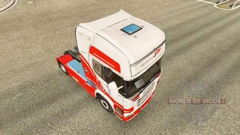 TruckSim de la peau pour Scania camion pour Euro Truck Simulator 2