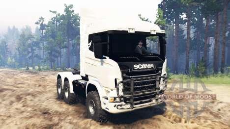 Scania R730 für Spin Tires