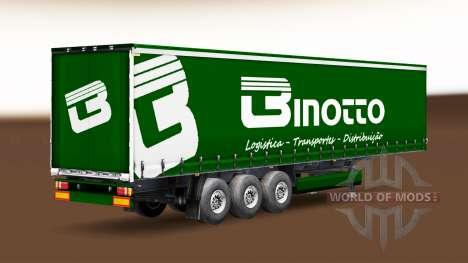 Binotto Transportes de la peau pour une remorque pour Euro Truck Simulator 2