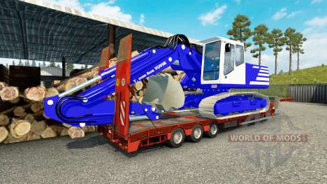 La peau T. van der Vijver au bas de balayage pour Euro Truck Simulator 2