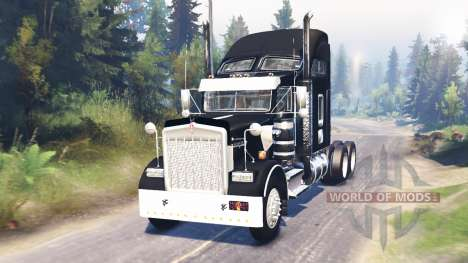 Kenworth W900 pour Spin Tires
