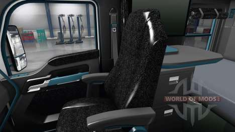 Innen Blaues Zifferblatt für Kenworth T680 für American Truck Simulator