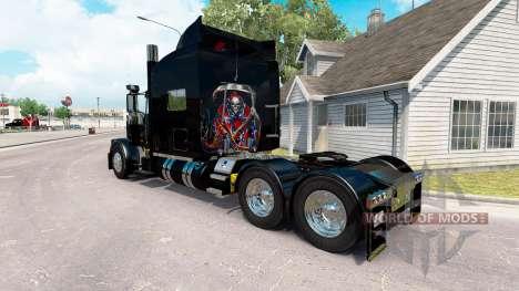 Rebel Reaper skin für den truck-Peterbilt 389 für American Truck Simulator